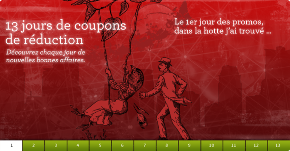 Promos de Noël sur lulu.com