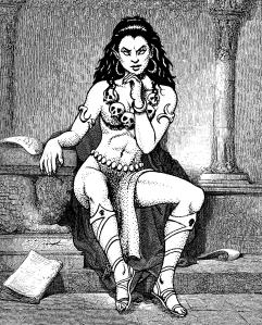 Lerotra'hh, déesse de la mort