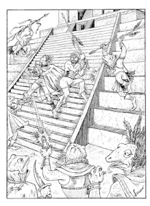 Combat sur la ziggourat