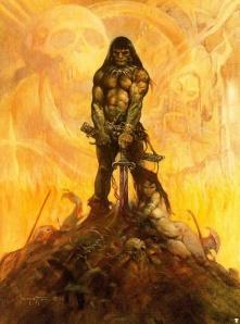 Conan le barbare, par Frank Frazetta