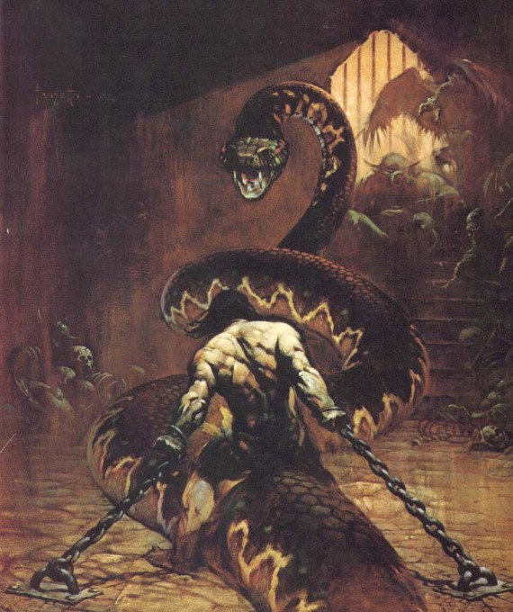 Conan the Usurper, Franck Frazetta