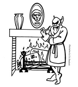 Grimtooth au coin du feu