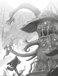 Le démon-champignon extraterrestre