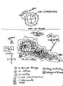 Carte des îles brumeuses