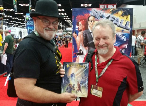 Bear Peters et Mike Stackpole à la GenCon 2015