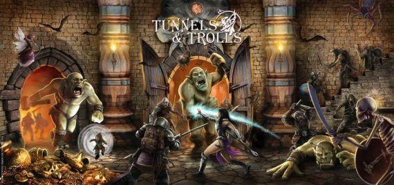 l'écran de jeu pour Tunnels & Trolls